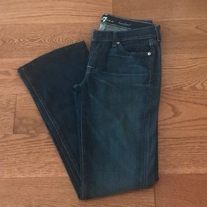 7 for all mankind bootcut jeans NWOT